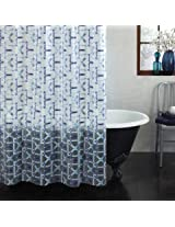 Ex-Cell Watercolor Trellis PEVA Shower Curtain