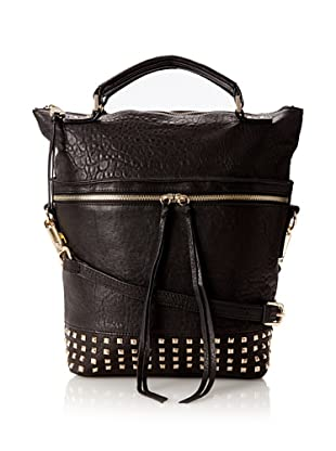 Joelle Hawkens Women's Flash Tall Satchel (Black)