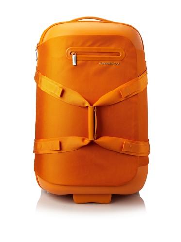 Mandarina Duck Scratch Resistant Trolley Double Handle with Terminal, Arancio