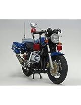 1/12 Naked Bike No.Sp Honda Cb400 Super Four Osaka Prefectural Police Sky Blue Corps (Blue Times)