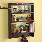 Decorative Floating wall shelf / book rack