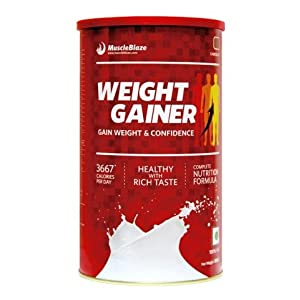 MuscleBlaze Weight Gainer , Chocolate  0.5 kg /  1.1 lbs