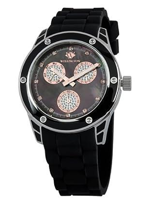 Wellington Damen-Armbanduhr Geraldine Analog Silikon WN506-122B