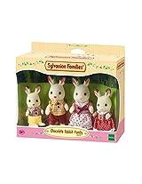 Sylvanian families Famille - Lapin Chocolat Sylvanian