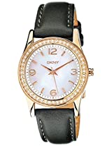 DKNY Analog Mother of Pearl Dial Women's Watch - NY8374