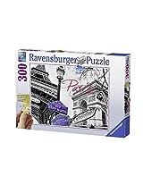 Ravensburger Puzzles My Paris, Multi Color (300 Pieces Gold Edition)