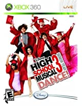 Disney High School Musical 3: Senior Year Dance with Dance Mat (Xbox 360)