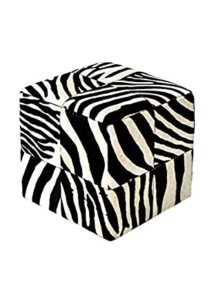 Vivonia Puff Zebra Print Big Patchwork