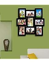 Art Street Multi 9 Black Photo Frame Collage