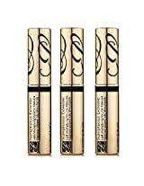 Estee Lauder Sumptuous Extreme Lash Multiplying Volume Mascara No.01 Extreme Black - Pack Of 3 - 0.1 Oz / 2.8 Ml
