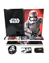 "Disney Star Wars ""The Force Awaken"" Storm Trooper Stationary Kit Black"