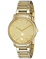 ESPRIT Analog Gold Dial Women's Watch - ES108112008