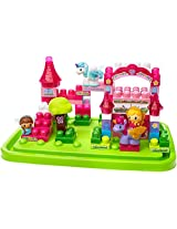 Fisher Price First Builders Unicorn Stable, Multi Color