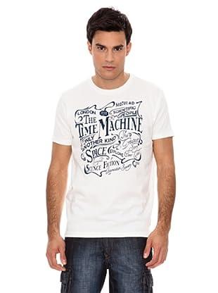 Springfield Camiseta Time Machine (Blanco)