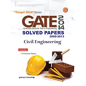 GATE Paper Civil Engineering Solved Paper 2000-2013 include 5 Practice Set (OLD EDITION) (OLD EDITION)
