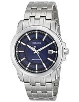 Bulova Precisionist Analog Blue Dial Men's Watch - 96B159