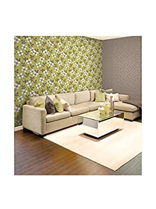 Brewster Freud Blossom Trail Strippable Wallpaper, Light Green
