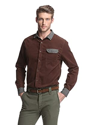 Just A Cheap Shirt Men's Vito Shirt (Brown)