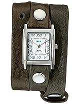 La Mer Collections Women's LMLW7002 Analog Display Japanese Quartz Brown Watch