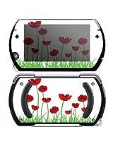Sony Psp Go Decal Skin Valentine Roses
