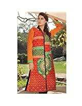 Ali Colours Pure Pakistani Lawn Embroidered Kurti For Women