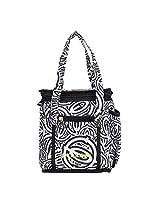 Pinnakle Black Circles Dice Lunch Bag V2