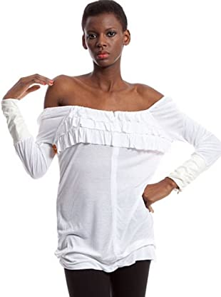 Custo Camiseta Daur zorro (Blanco)
