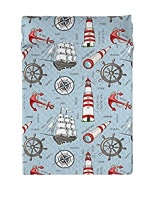 EUROMODA HOME LIVING Copriletto Sailboat