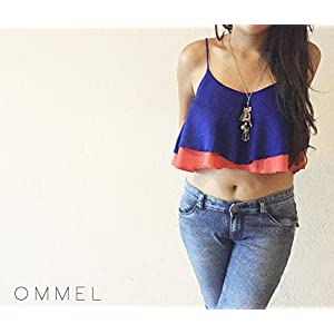 Ommel Curacao Double Layer Crop Top