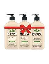 Hempz Citrus Blossom Herbal Body Moisturizer 17 fl oz (3 pack)