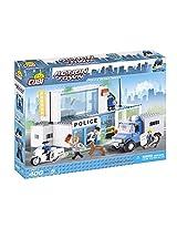 COBI Action Town Police Department Building Kit