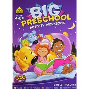 Big Preschool Activity Book: 1