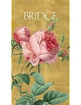 Entertaining with Caspari Bridge Score Pad, Roses