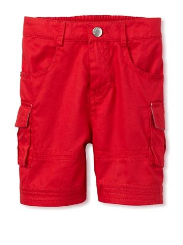 TroiZenfantS Baby Cargo Shorts (Red)