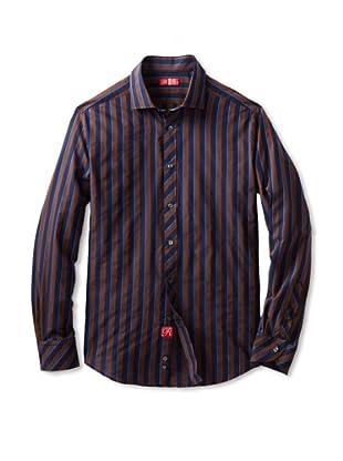 Rufus Men's Button-Up Shirt (Navy)