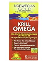 Renew Life NG Super Critical Krill Omega Gels, 30 Count