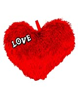 Valentines Furry Red Love Heart (11 inch)