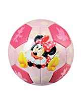 Franklin Sports Disney Minnie Mouse Air Tech Soft Foam Soccer Ball, Size 3