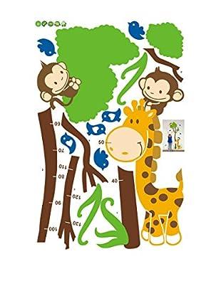 Ambiance Sticker Wandtattoo Tree And Monkey (Kidmeter)