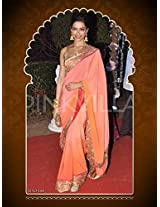 Bollywood Replica Saree Deepika Party Wedding Wear Saree: NFS1168
