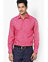 Red Full Sleeve Formal Shirt