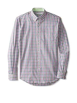 Alex Cannon Men's Checked Sportshirt