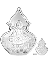 RSD 5 Grams Silver Coin of goddess Lakshmi 99.90 Finess