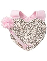 Little Me Baby Girls' Bib and Pacifier Holder