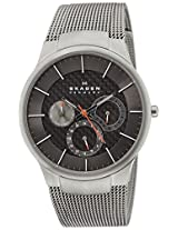 Skagen Black Label Analog Grey Dial Men's Watch - 809XLTTMI