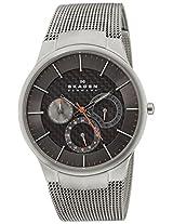 Skagen Black Label Analog Grey Dial Men's Watch - 809XLTTMI