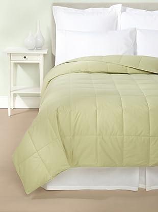 Mélange Home Down Blanket (Sage)