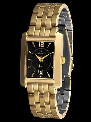 Bassel Reloj 60123 de Acero negro / dorado