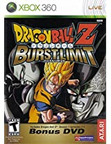 Dragon Ball Z Burst Limit With Bonus Dvd