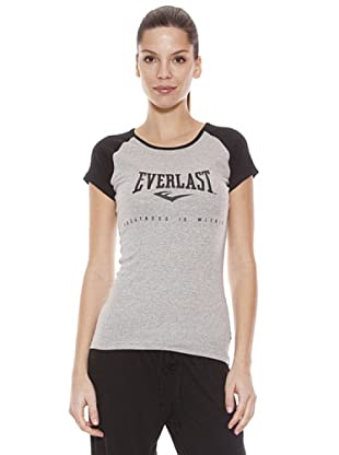 Everlast Camiseta Lovey (Gris / Negro)